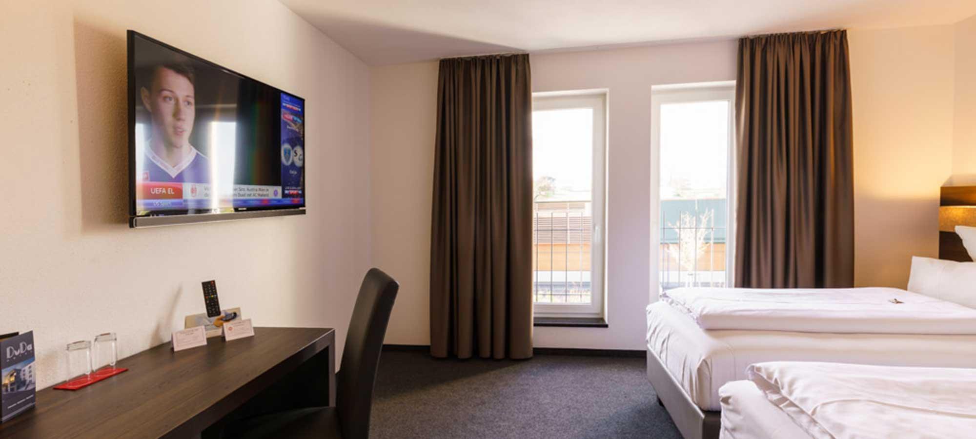 Zimmer - Hotel DuDa Langebruck